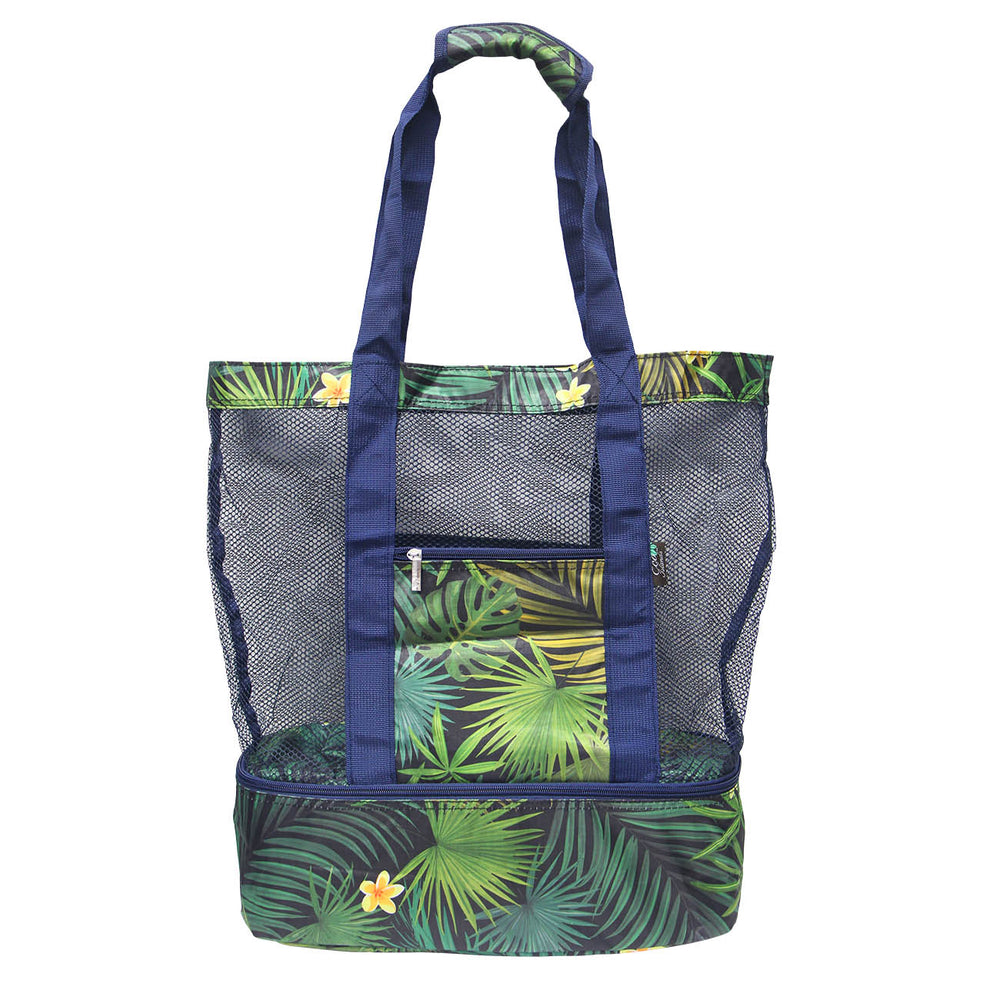 Outdoor Mesh Cooler Bag Series - PALM FOREST