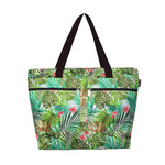 Beach Tote Bag PALM FOREST - CREAM