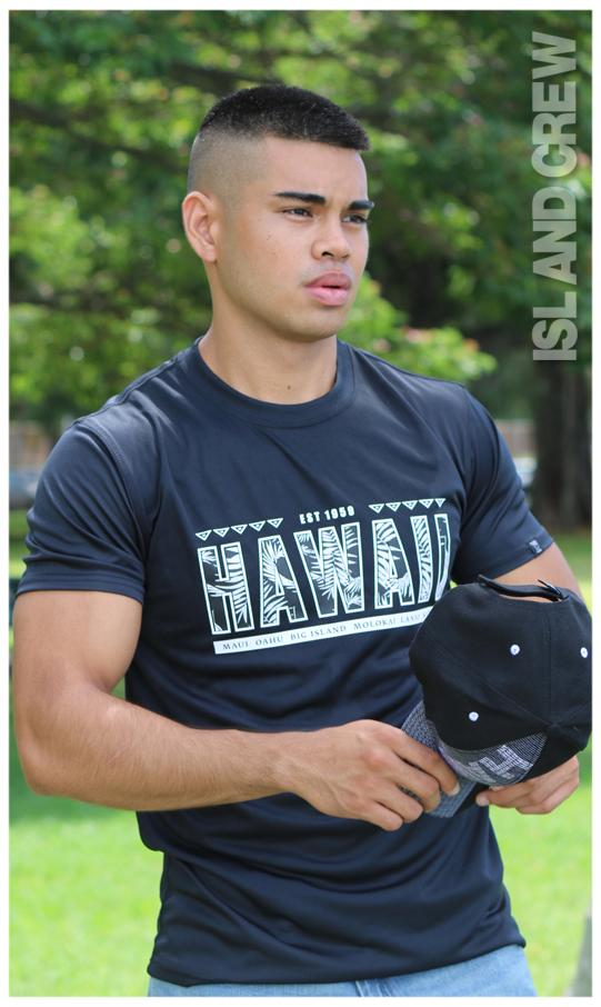 Cool T-Shirt: HAWAII TYPO