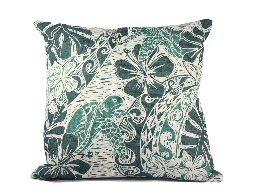 Pillow Cover: HONU TAPA