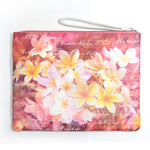Pouch Bag Series: ALOHA HAWAII PLUMERIA