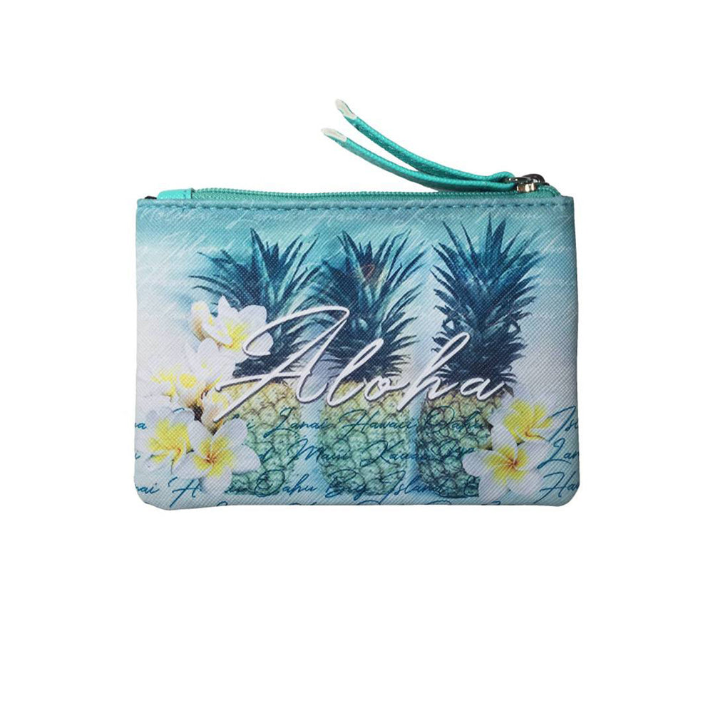 Pouch Bag Series: GREEN PINEAPPLES
