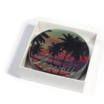 Magnet: HAWAII COASTER - SUNSET BEACH [6PCS Set]