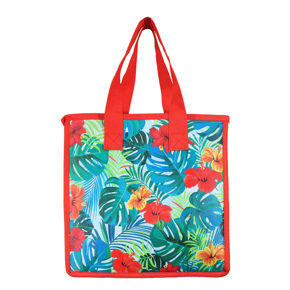 Large Insulated Picnic Bag - HIBISCUS