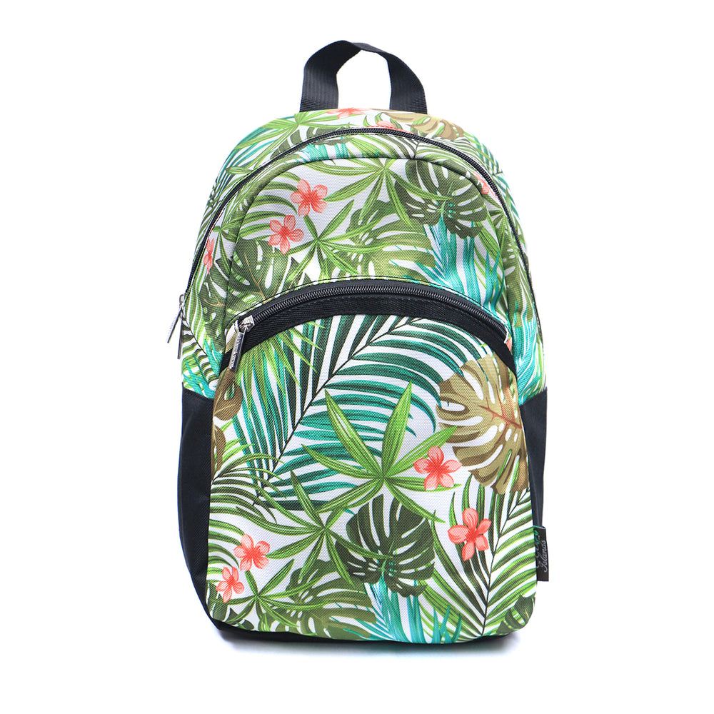MINI BACKPACK SERIES - PALM FOREST - CREAM