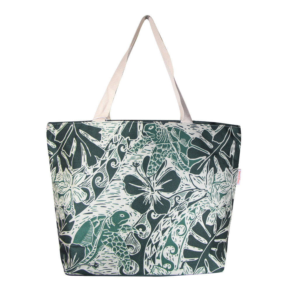 Woven Polyester TOTE BAG - HONU TAPA