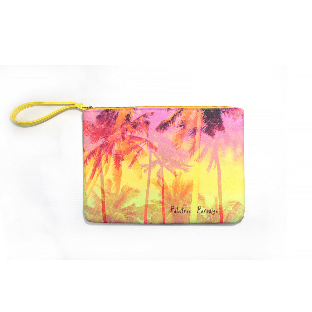 Neoprene Pouch: PALM TREE