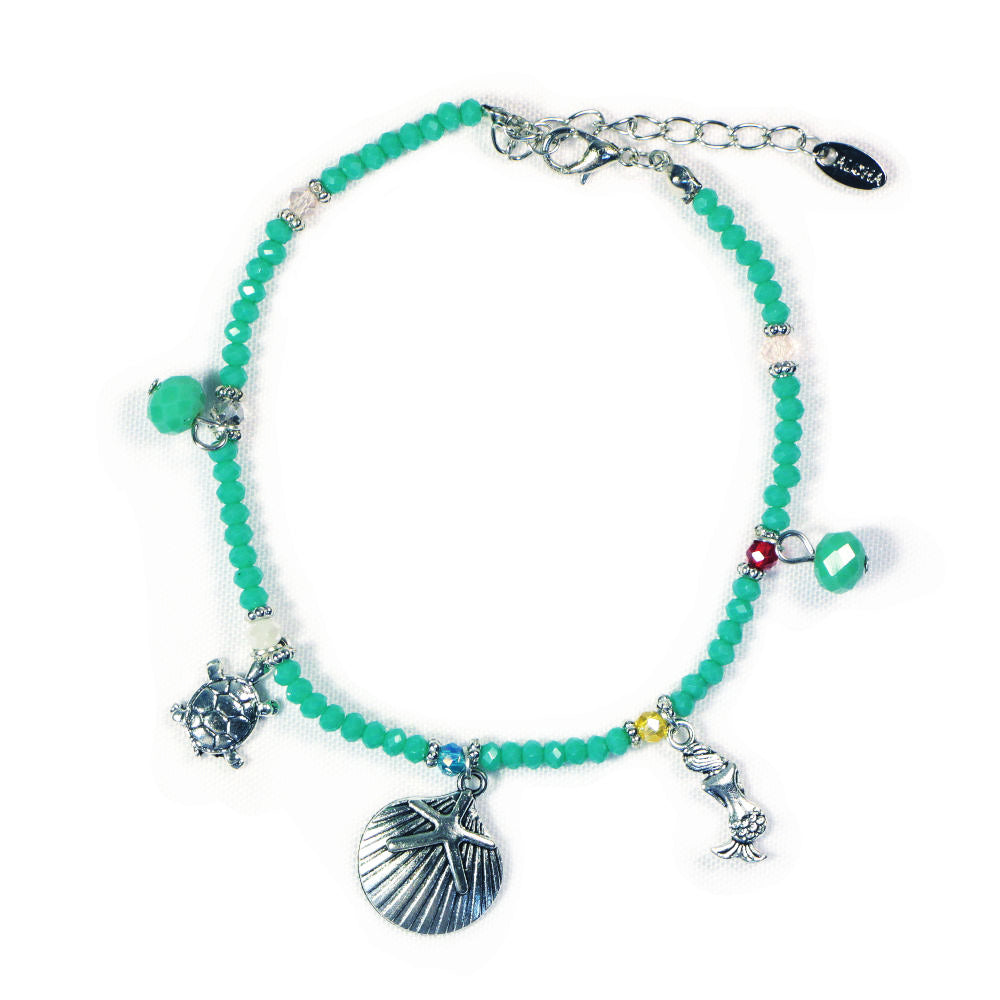 ANKLET: TURTLE + SHELL + MERMAID