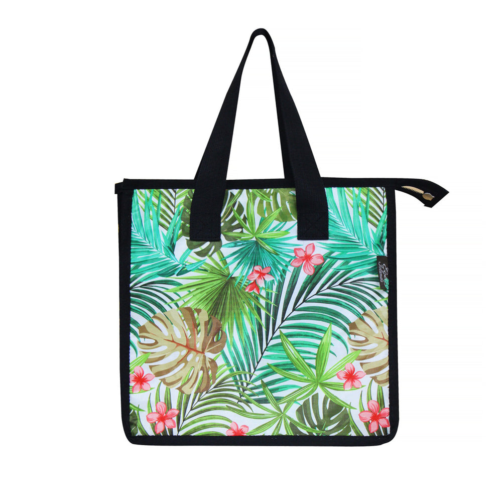 Large Cooler Bag - PALM FOREST - CREAM