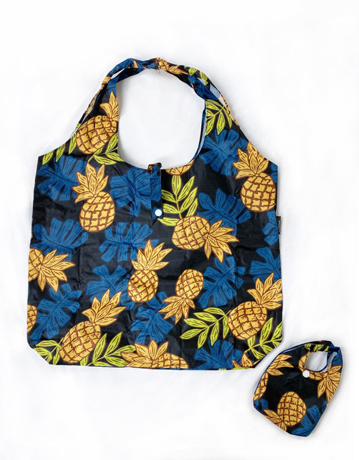 Foldable Reusable Shopping bag PINEAPPLE DAY
