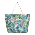Woven Polyester TOTE BAG - PALM FOREST