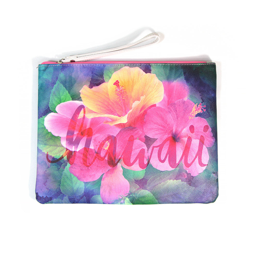 Pouch Bag Series: HIBISCUS HI