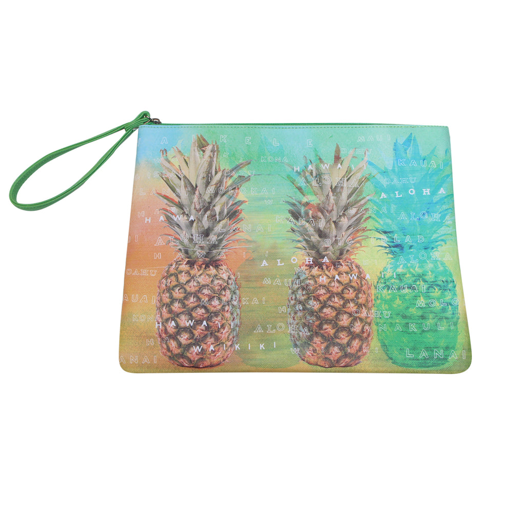 Pouch Bag Series: PINEAPPLE ISLAND