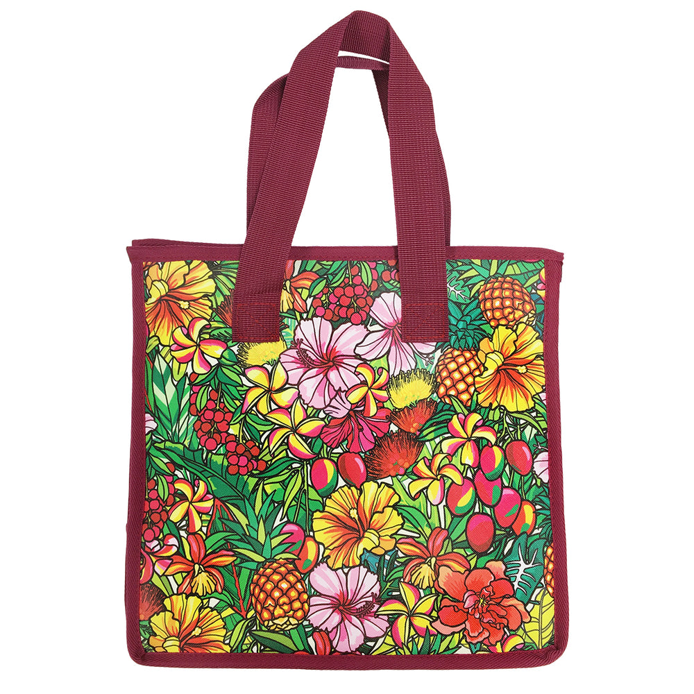 Large Insulated Picnic Bag - PARADISE JUNGLE