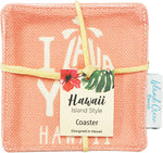 WOVEN COASTER: I LAVA YOU - 4 PCS SET
