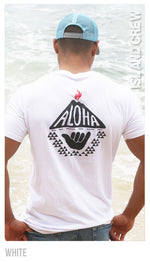 COTTON T-SHIRT: ALOHA VOLCANO SHAKA