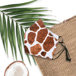 FACE MASK W/ ADJUSTABLE STRAP : ANIMAL PRINT - 3, 4 SETS