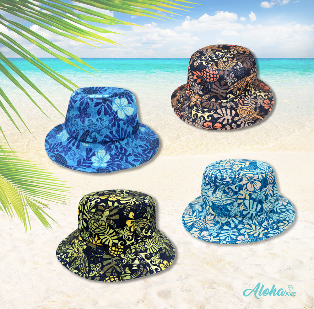 BUCKET HAT : TAPA HONU