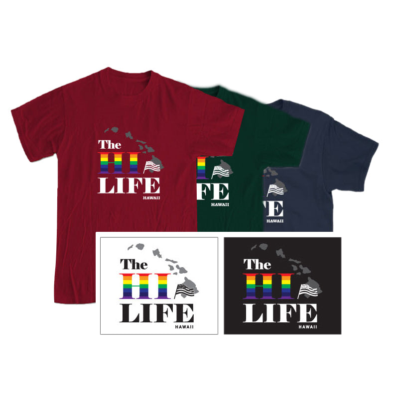 HAWAII LIFE Graphic T-shirt