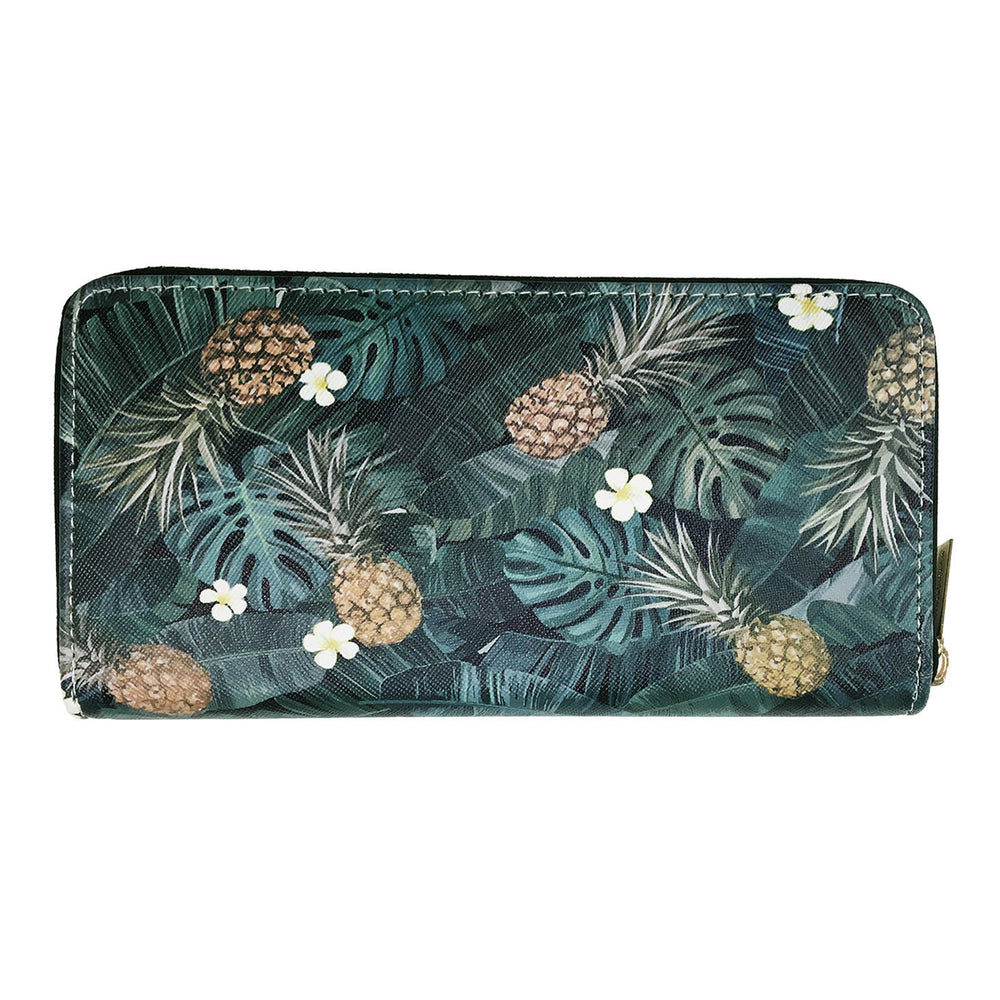 MONSTERA PINEAPPLE WALLET