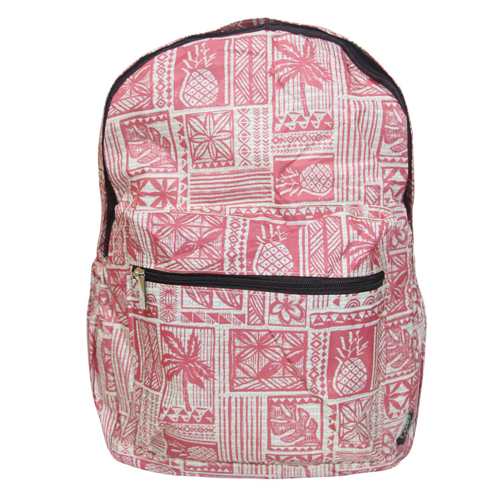 Hawaii Foldable Backpack VINTAGE TAPA