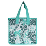 Large Insulated Picnic Bag - HONU TAPA - AQUA