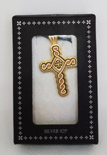 Load image into Gallery viewer, Silver Mt Athos Cross 2
