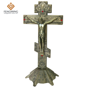 Orthodox Cross With Base