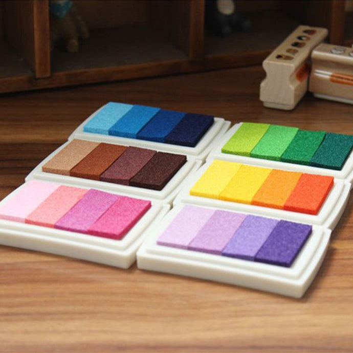 Gradient Colour Ink Pad 6 Colors