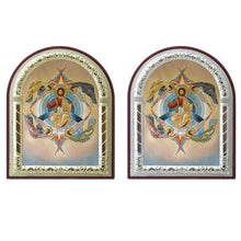 Load image into Gallery viewer, The Ascension of Christ Printed Metal Plated Icon