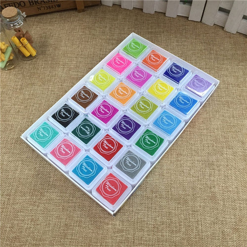 24pcs/set Colorful Ink pad