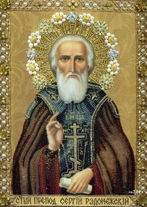 St. Nicholas Of Myra Diamond Embroidery Pattern Orthodox