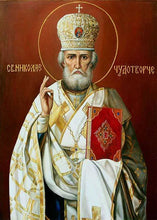 Load image into Gallery viewer, St. Nicholas Of Myra Diamond Embroidery Pattern Orthodox