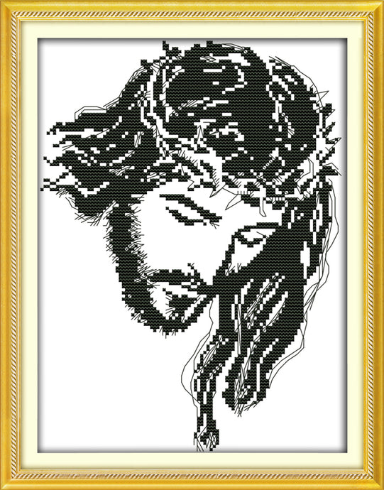 Jesus Cross Stitch Kits