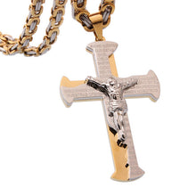 Load image into Gallery viewer, Jesus Cross Necklace