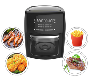 7L Large Capacity Thermostat Controlled Deep Touch Screen Digital Air Circulation Fryer