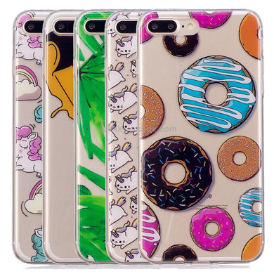 Patterned Soft TPU Case for iPhone 8 Plus & 7 Plus