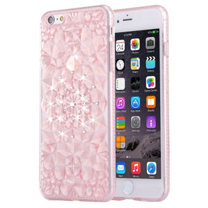Diamond Encrusted Soft TPU Protective Case Back Cover For iPhone 6 & 6s