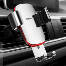 Baseus Universal Car Air Vent Mount Aluminum Alloy + ABS Clamp Phone Gravity Holder Stand