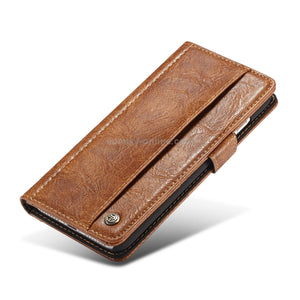 CaseMe for iPhone 6 Plus & 6s Plus Leather Texture Horizontal Case with Magnetic Clasp & Wallet