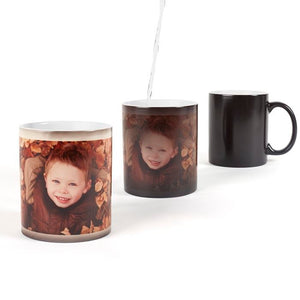 A Personalized Custom Color Changing Mugs