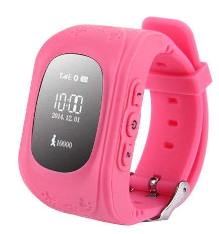 Q50 GPS Tracker Smart Watch for Kids, Support SIM Card / Anti-lost / SOS Call / Location Finder / Remote Monitor