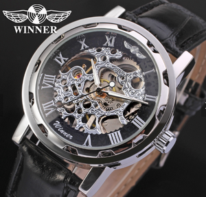 New Model Man Watch T-winner Skeleton Relojes Hombre