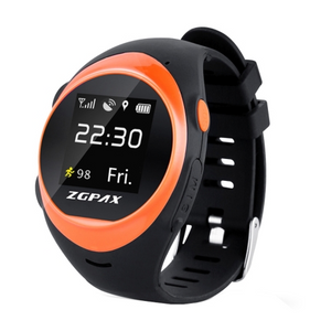 ZGPAX S888A 1.22 inch IPS Screen Waterproof Smartwatch WiFi GPS Tracking Watch