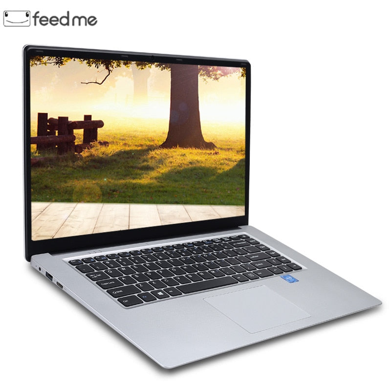 15.6 inch 8GB RAM DDR4 256GB/512GB SSD Notebook intel J3455 Quad Core Laptops With FHD Display Ultrabook Student Computer