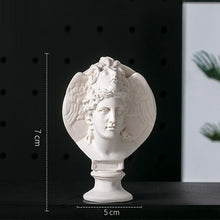 Goddess Michelangelo Buonarroti Laocoon and His Sons Bust Mini Gypsum Statue Home Deco Resin Art&Craft Sketch Practice R3228