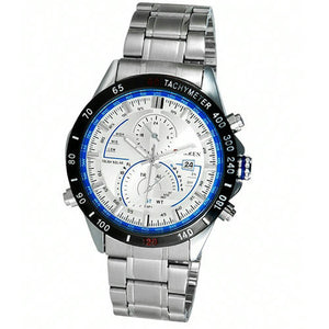 CURREN Large Dial Quartz Automatic Men's Watch