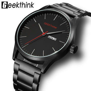 Geekthink Japan Quartz Automatic Designer Men's Wristwatch