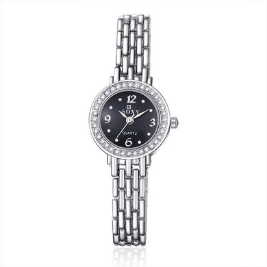 Soxy Silver Bracelet Automatic Quartz Women's Watch