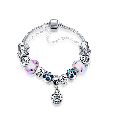 Ice Cream Flavor Pandora Inspired Bracelet Made with Swarovski Elements